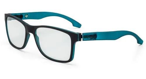 Armação oculos grau mormaii califa m6047a9256 preto verde