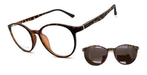 Armação oculos grau solar original m.thomaz clip on