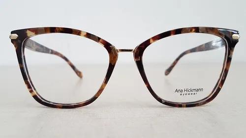 Armação óculos grau ana hickmann ah6363a g21 coleção