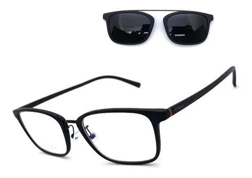 Armação óculos grau m.thomaz masculino clip on original