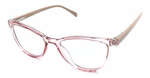 Armação óculos menina infantil criacans rosa pg11 acetato