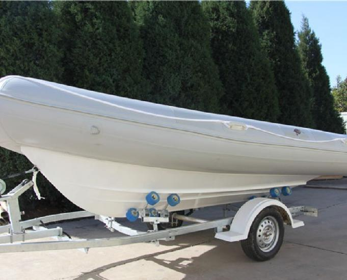 Barco inflável pvc c reboque importado p consumidor final