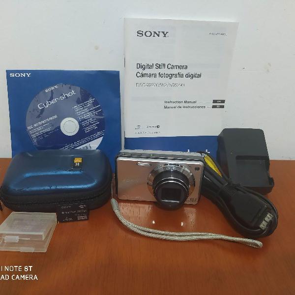 Câmera digital sony cyber shot dsc-w270