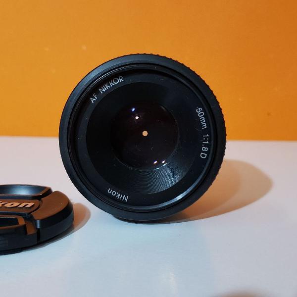 Lente nikon - af nikkor 50mm f/1.8d