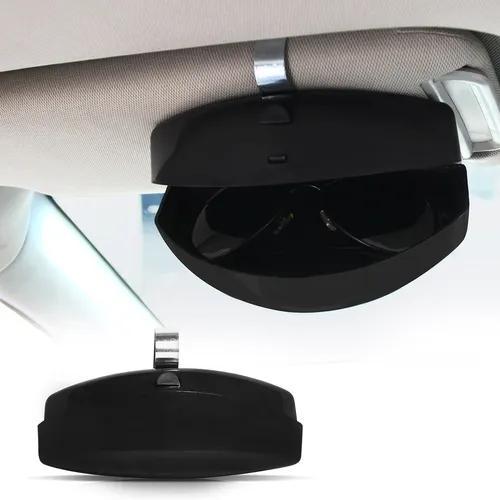 Porta óculos veicular universal abre fácil para carro