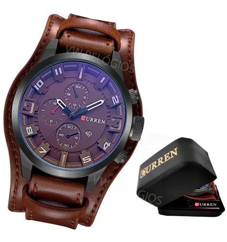 Relógio masculino curren mod.8225 original com caixinha