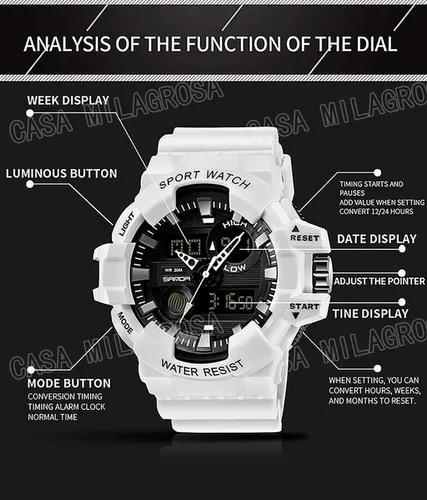 Relógio masculino esportivo importado original casual