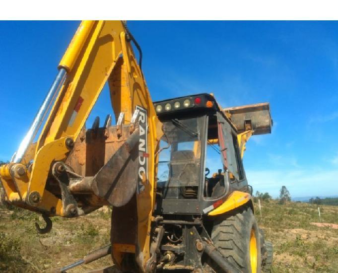 Retro escavadeira randon rd 406 4x4 ano 2013