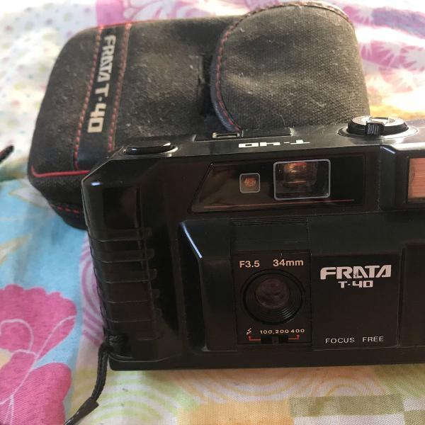 Câmera fotográfica antiga frata t-40