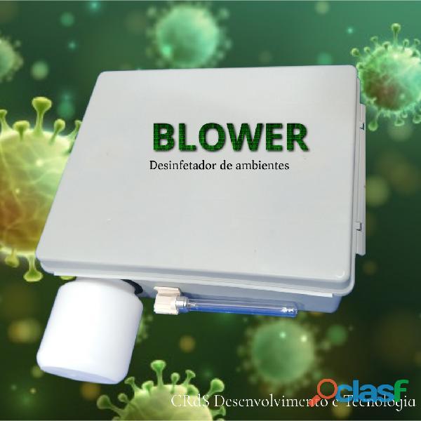 Desinfetador de elevadores, salas de aulas e escritório BLOWER com sensor de presença