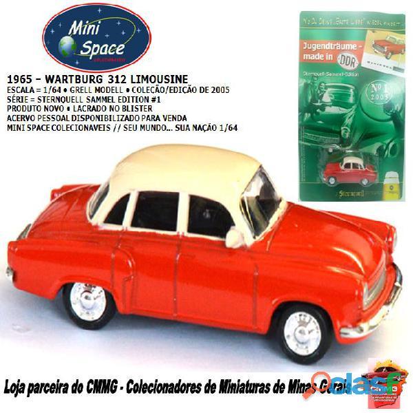Grell Modell 1965 Wartburg 312 Limousine 1/64