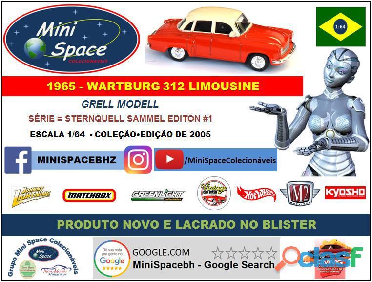 Grell Modell 1965 Wartburg 312 Limousine 1/64 8