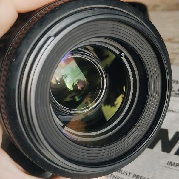 Lente nikon zoom / 55-200mm f/4-5.6 com estabilização!