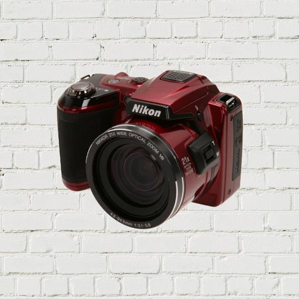 Nikon coolpix l120 - câmera digital semi-profissional