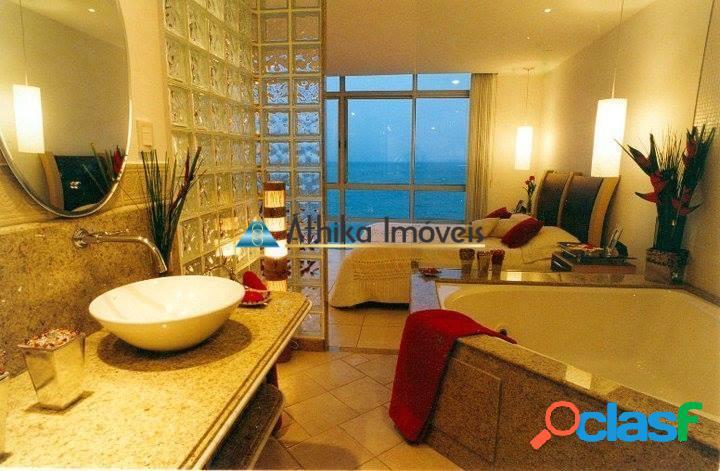 Apartamento 3 quartos transformados em 2 - Frente Mar Praia da Costa 1