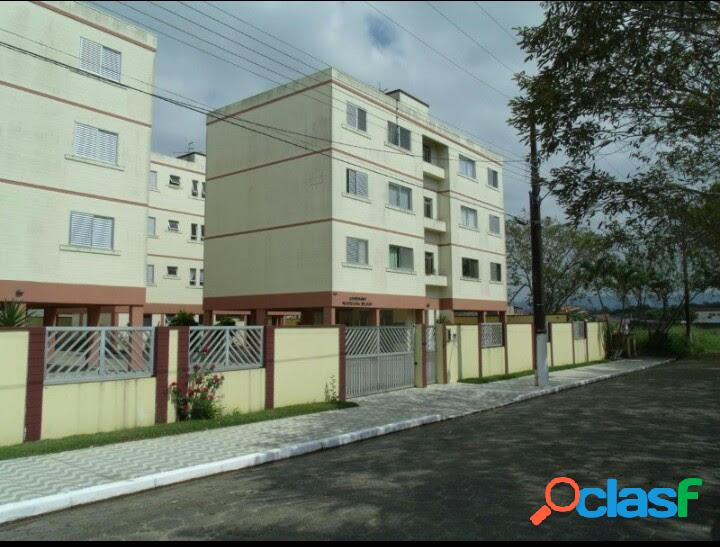 Apartamento mobiliado em cond. fechado - jd. belmar (peruíbe-sp) - venda