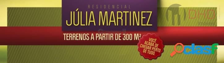 Terreno no condominio julia martinez