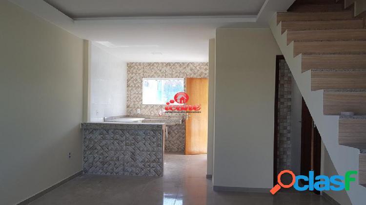 Duplex 2 quartos, linda vista, churrasqueira