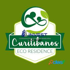 Condomínio eco curitibanos terrenos de 1.000m² apenas 10 minutos do centro