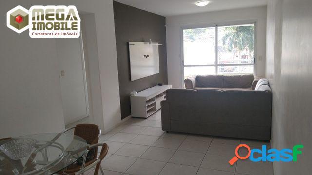 Apartamento mobiliado no itacorubi! são 2 dormitórios (1 suíte),