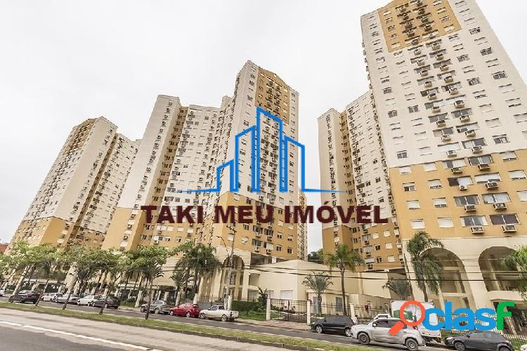Condomínio terra nova nature - apartamento com 2 dormitórios, suíte, living