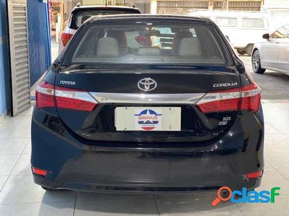 Toyota corolla xei 2.0 flex 16v aut. preto 2016 2.0 flex
