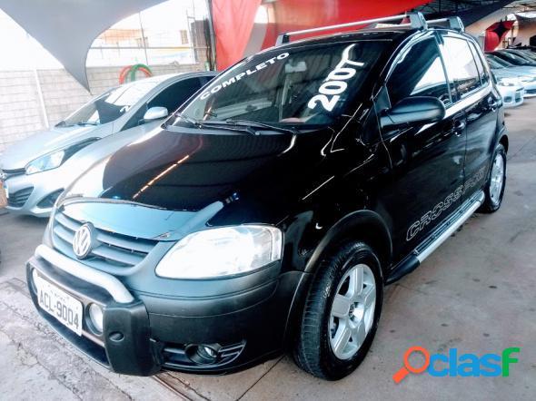 Volkswagen crossfox 1.6 mi total flex 8v 5p preto 2007 1.6 flex