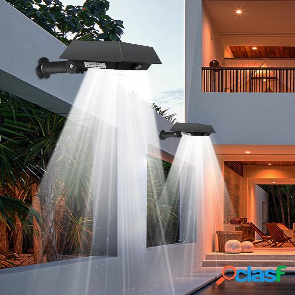 Solar 30 led pir motion sensor outdoor yard gutter garden wall light impermeável lâmpada de segurança