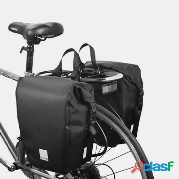 Bicicleta bolsa prateleira bolsa grande capacidade de bicicleta camel à prova d 'água bbg equitação bolsa 10l