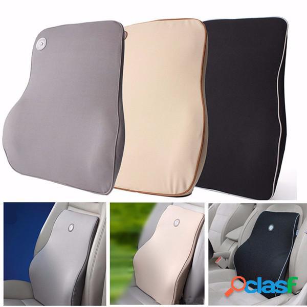 Almofada de cintura lombar almofada de cintura almofada de memória espuma de algodão cadeira de casa cadeira de carro almofada lombar