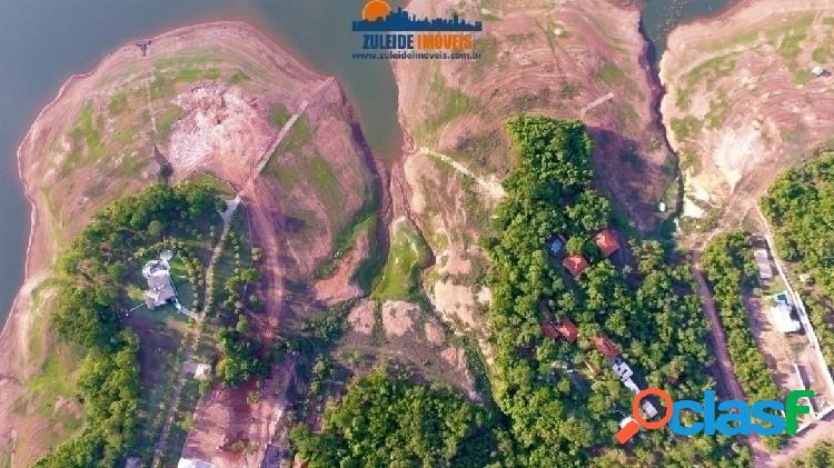 3 CHÁCARAS localizadas no Lago das Aroeiras as margens do lago de Caldas 1