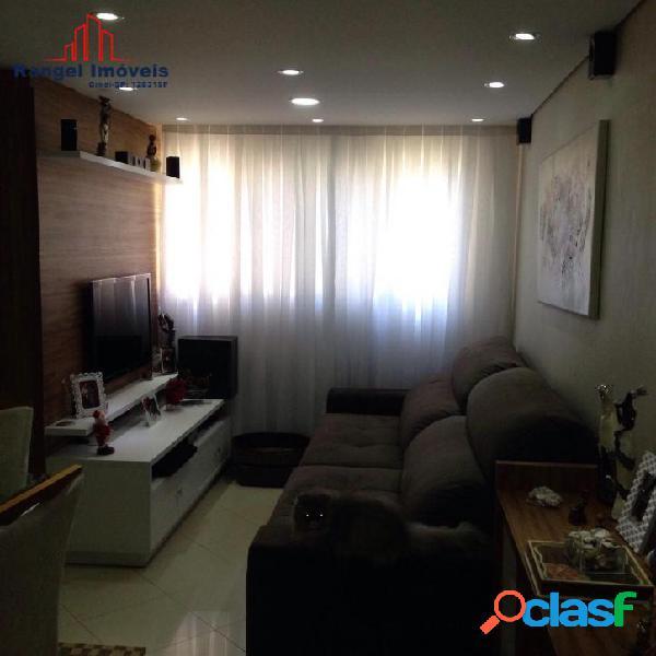 Apartamento em osasco | são cristovão | 54m² - 2 quartos - 1 vaga