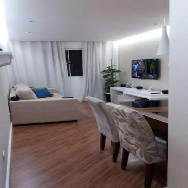 Apartamento 3 dorms para venda - centro, diadema - 70m², 1