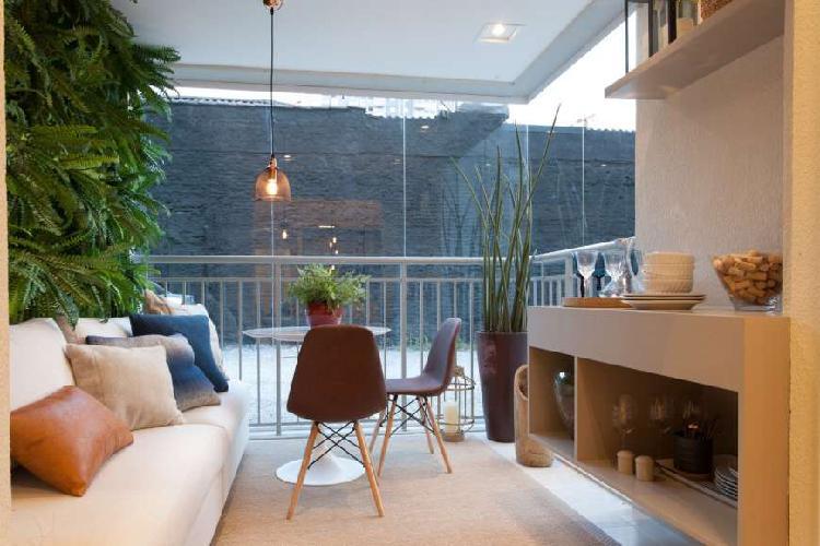 Apartamento para venda com 49 metros quadrados com 10