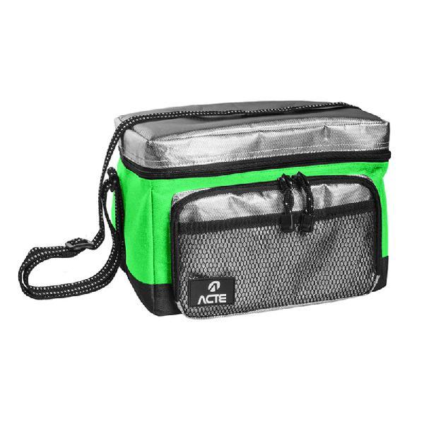 Bolsa térmica acte a47 de tamanho pequeno verde lunch box