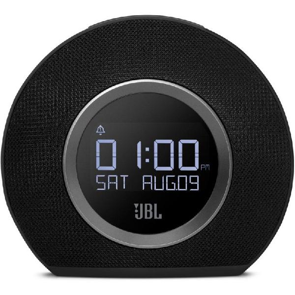 Caixa de som e rádio relógio jbl horizon bluetooth com
