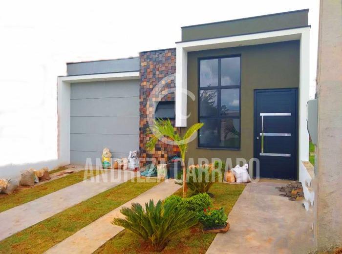 Casa em condomínio para venda em sorocaba, cond. terras de