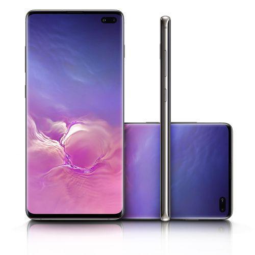 Celular smartphone galaxy s10+ plus 128gb preto sm-g975f//ds