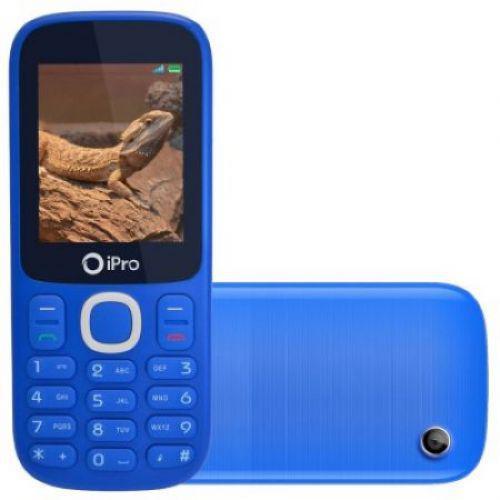 Celular/u00a0ipro i3200, azul, tela de 2/