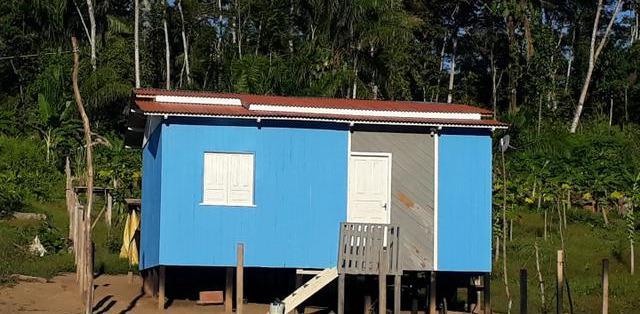 Chácara casa com 2 domitórios - mgf imóveis