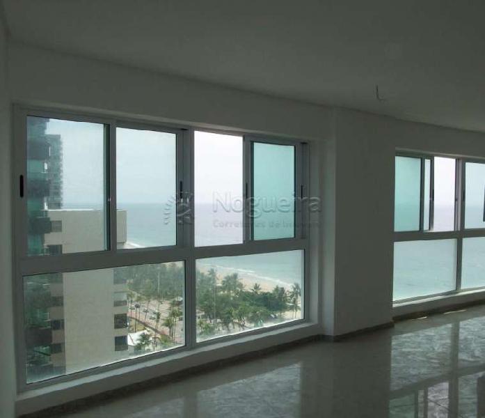 Excelente apartamento beira mar de boa viagem