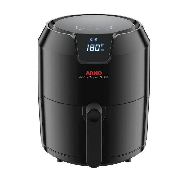 Fritadeira arno gfry super digital preta sem óleo 220v