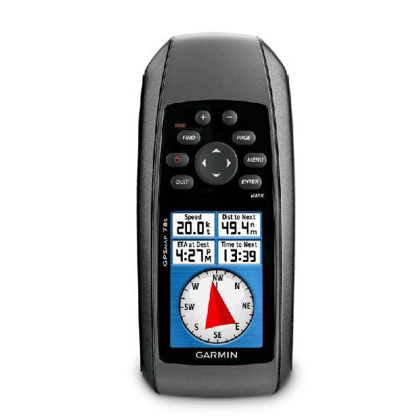 Gps esportivo portátil garmin gpsmap 78s preto com 1,7gb de