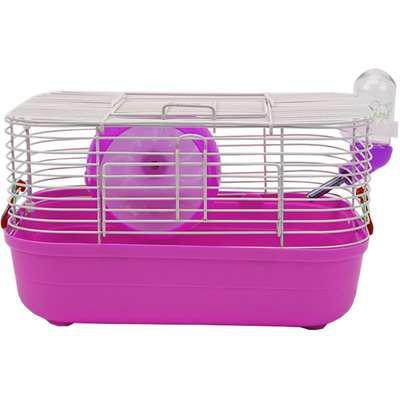 Gaiola american pets pop star para hamster - rosa