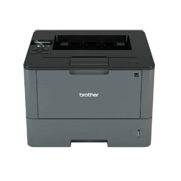 Impressora laser brother hll5102dw 127v preta wireless