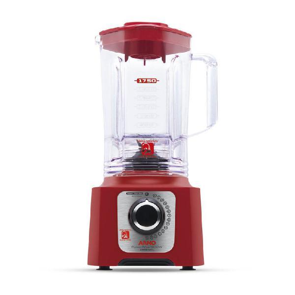 Liquidificador arno power max 1400 15 velocidades jarra san