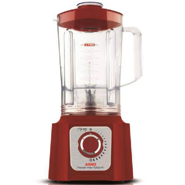Liquidificador arno power max 15 velocidades jarra san