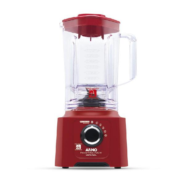 Liquidificador power max arno 5 velocidades jarra de 3,1l