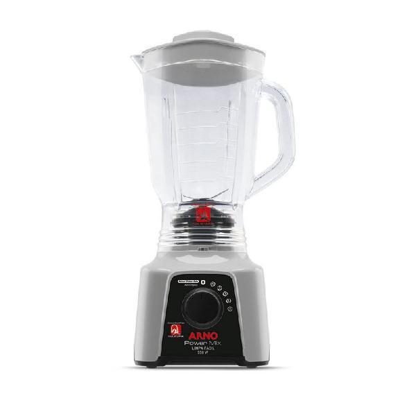 Liquidificador power mix limpa fácil 5 velocidades jarra