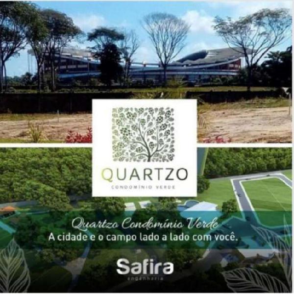 Lote/terreno para venda com 192 m2 quartzo condomínio verde